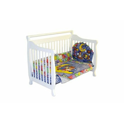 Dream On Me Liberty Collection 4 in 1 Crib, Cherry