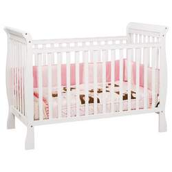 DaVinci Jamie 4 in 1 Stationary Convertible Crib, White