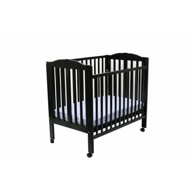 Dream On Me 3-in-1 Folding Portable Crib - Black