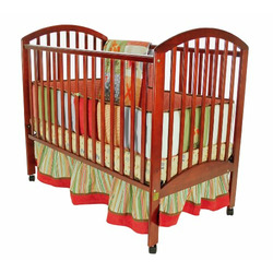 Dream On Me Richmond 2 in 1 Convertible Crib, Cherry