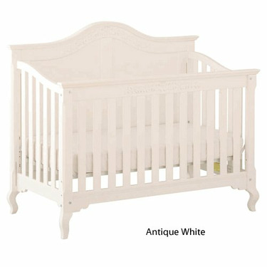 Status Series 200 Stages Convertible Crib, Antique White