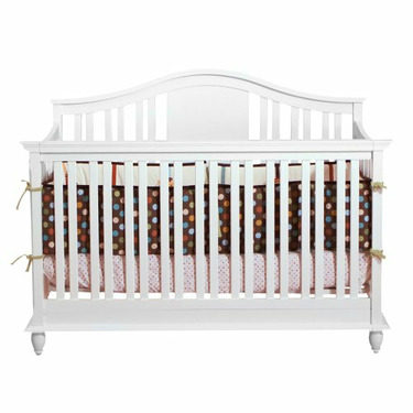 BSF Baby 4 in 1 Addison Crib - White