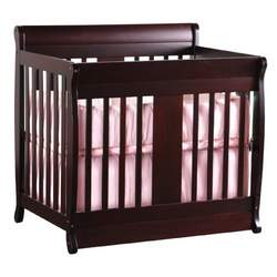 Chelsea Mini Crib 2-in-1 Convertible in Cherry By Nursery Smart