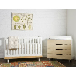 Oeuf Eco-friendly Classic Crib, Birch