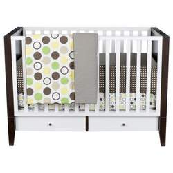 DwellStudio® for Target®Silver Lake Convertible Crib 2nd Edition in Walnut/White