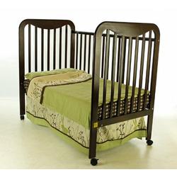 Dream On Me Bristol 2 in 1 Convertible Crib, Espresso