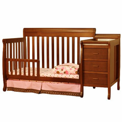 Athena 2010 New Kimberly 4-in-1 Convertible Crib (Espresso)