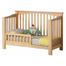 Atlantic Furniture Eco-Friendly Columbia Convertible Crib, Natural Maple