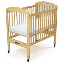 Angeles EL7020 Compact Adj Fixed Crib with Mirror