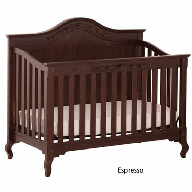 Status Series 200 Stages Convertible Crib, Espresso