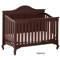 Status Series 200 Stages Convertible Crib, Espresso