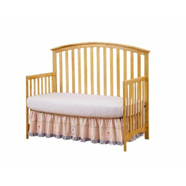 Bassettbaby Mission 4 in 1 Crib - Natural