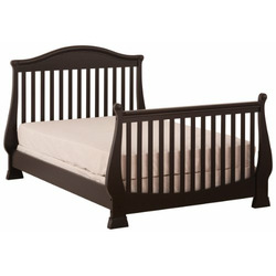 Status Series 300 Stages Convertible Crib, Rubbled Black