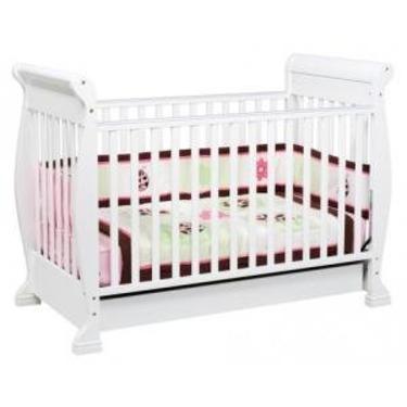 Anastasia 4-in-1 Convertible Crib in White