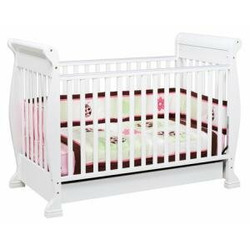 Anastasia 4-in-1 Convertible Crib in White