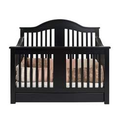 Davinci Cameron 4 in 1 Convertible Crib with Under Drawer, Ebony