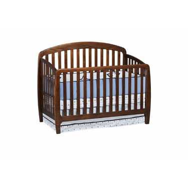 Slumber Time by Simmons Kids Furniture Loft Style 3 in 1 Convertible Crib N More, Espresso