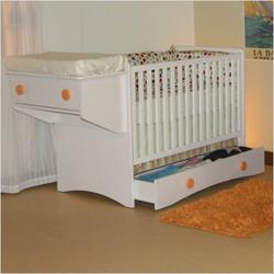 Berg 26-421-XX Oslo Crib with Drawer