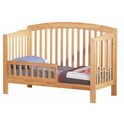 Atlantic Furniture Eco-Friendly Richmond Convertible Crib, Natural Maple