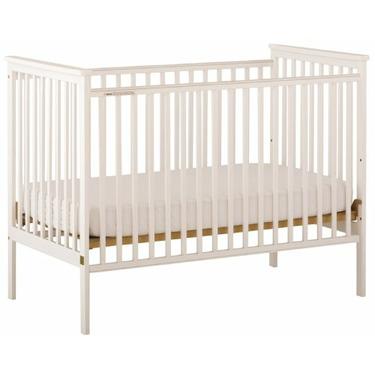 Stork Craft Libby Fixed Side Crib, White