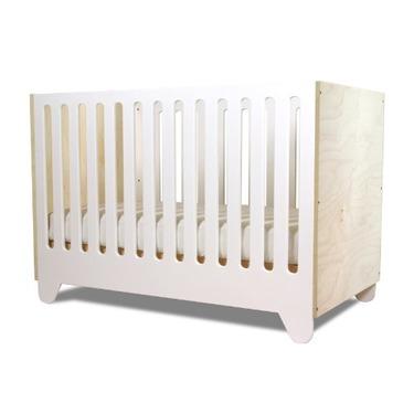Spot On Square Hiya Eco-friendly Crib, White/Birch