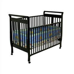 Dream On Me 2-in-1 Bella Sleigh Crib - Black