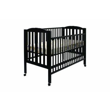 Dream On Me Folding Full Size Crib - Espresso