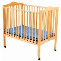 Delta Fold Away 3-in-1 Portable Crib - Natural