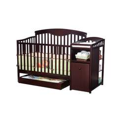 Delta Shelby Classic Crib And Changer, Espresso Cherry