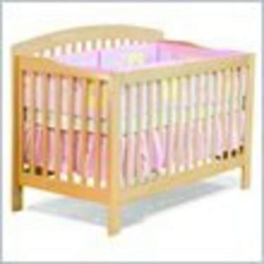 Atlantic Furniture Richmond 4-in-1 Convertible Wood Baby Crib