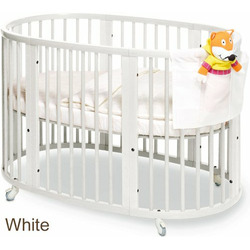 Stokke Sleepi Convertible Wood Crib in White