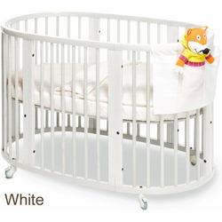 Stokke Sleepi Convertible Wood Crib in White