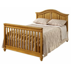 Westwood Design Cypress Point Convertible Crib with Guard Rail - Honey Pine