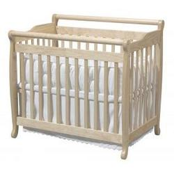 Emily Convertible Mini Crib in Natural