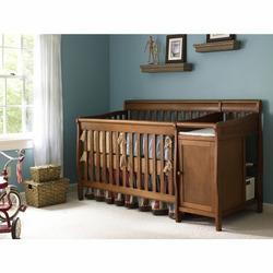 Europa Baby Seville Crib n' Changer - Cinnamon