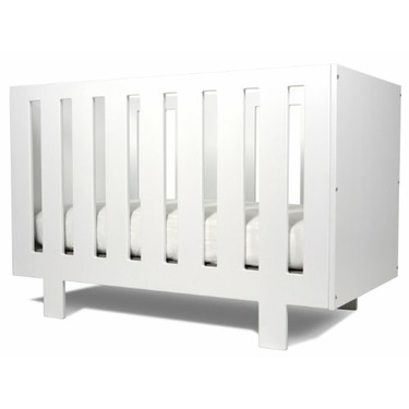 Spot On Square Eicho Eco-friendly Crib, White
