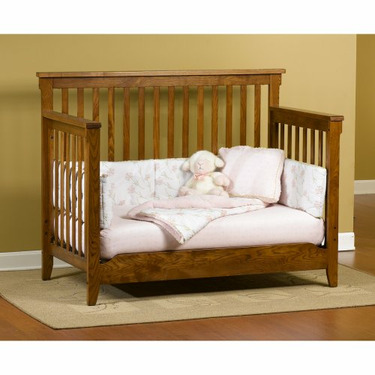 Childcraft Rose Valley Oak Lifetime Crib