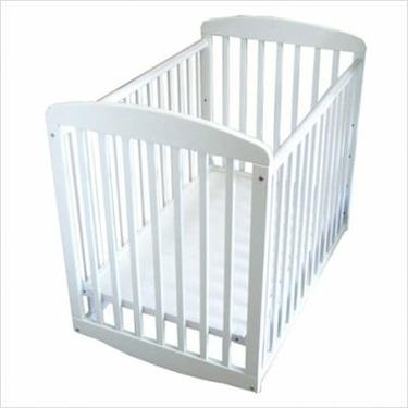 Athena Mya Mini Crib in White