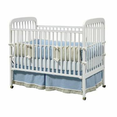 Alpha 3-in-1 Convertible Crib - White