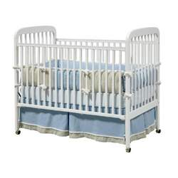Alpha 3-in-1 Convertible Crib - White