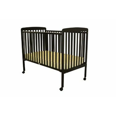 Dream On Me Bethany  2 in 1 Crib, Black
