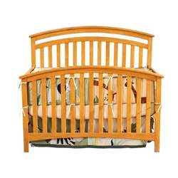 Bassettbaby Mission Bay 4 in 1 Crib, Pine
