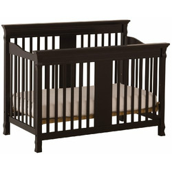 Stork Craft Ariel Stages Crib, Black