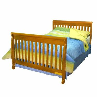 Athena Alice 3-in-1 Convertible Crib (Pecan)