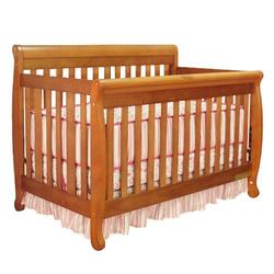 Athena Alice 3-in-1 Convertible Crib (Pecan)
