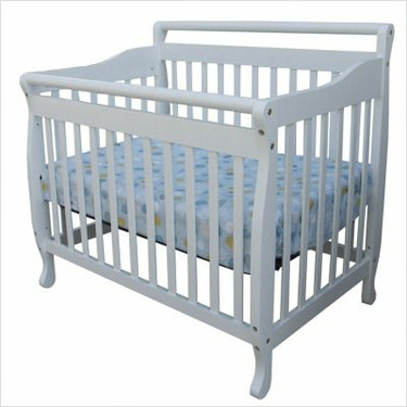 Dream On Me 3-in-1 Convertible Wood Crib in White