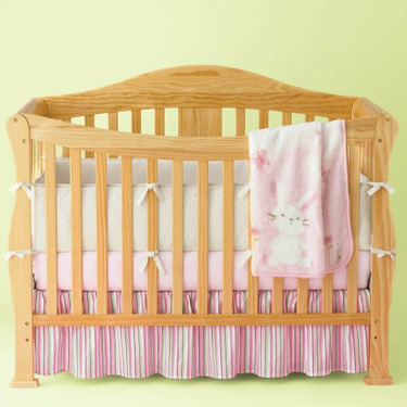 JCPenney Natural Finish Christie Convertible Crib - Antique White, Cherry, Coffee, Natural