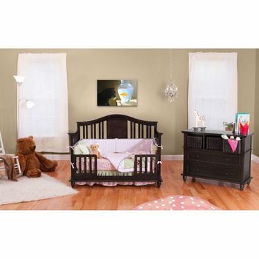 BSF Baby 4 in 1 Addison Crib - Espresso