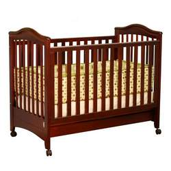 Athena Jeanie Crib with Drawer in Cherry