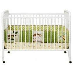 Jenny Lind 3-in-1 Convertible Crib in White